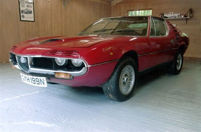 Lot 72-1974 Alfa Romeo Montreal