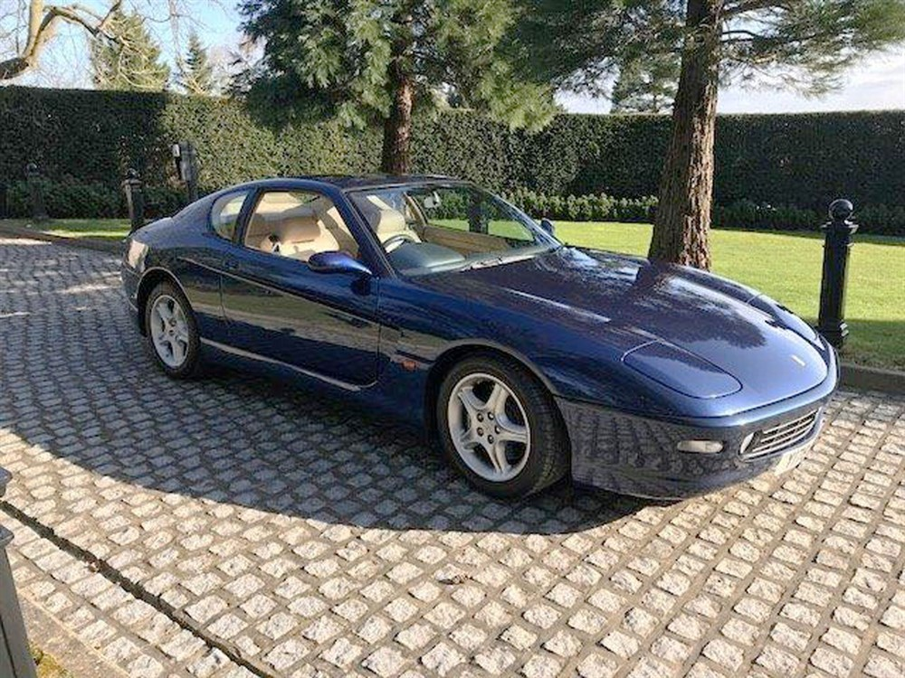 Lot 43-2000 Ferrari 456 GTA