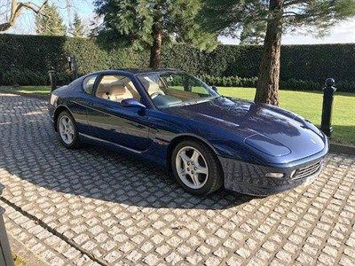 Lot 43-2000 Ferrari 456 GTA