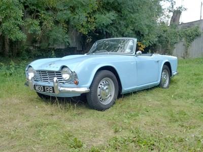 Lot 9-1962 Triumph TR4