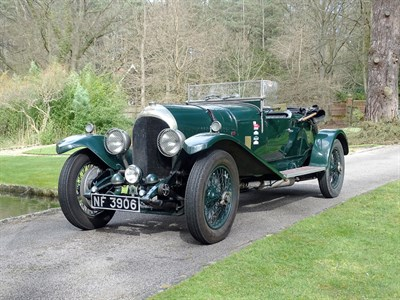 Lot 45-1927 Bentley 3/4.5 Litre Tourer