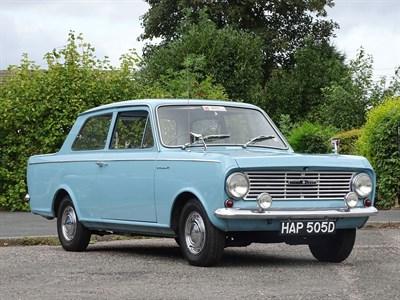 Lot 35-1966 Vauxhall Viva HA Deluxe