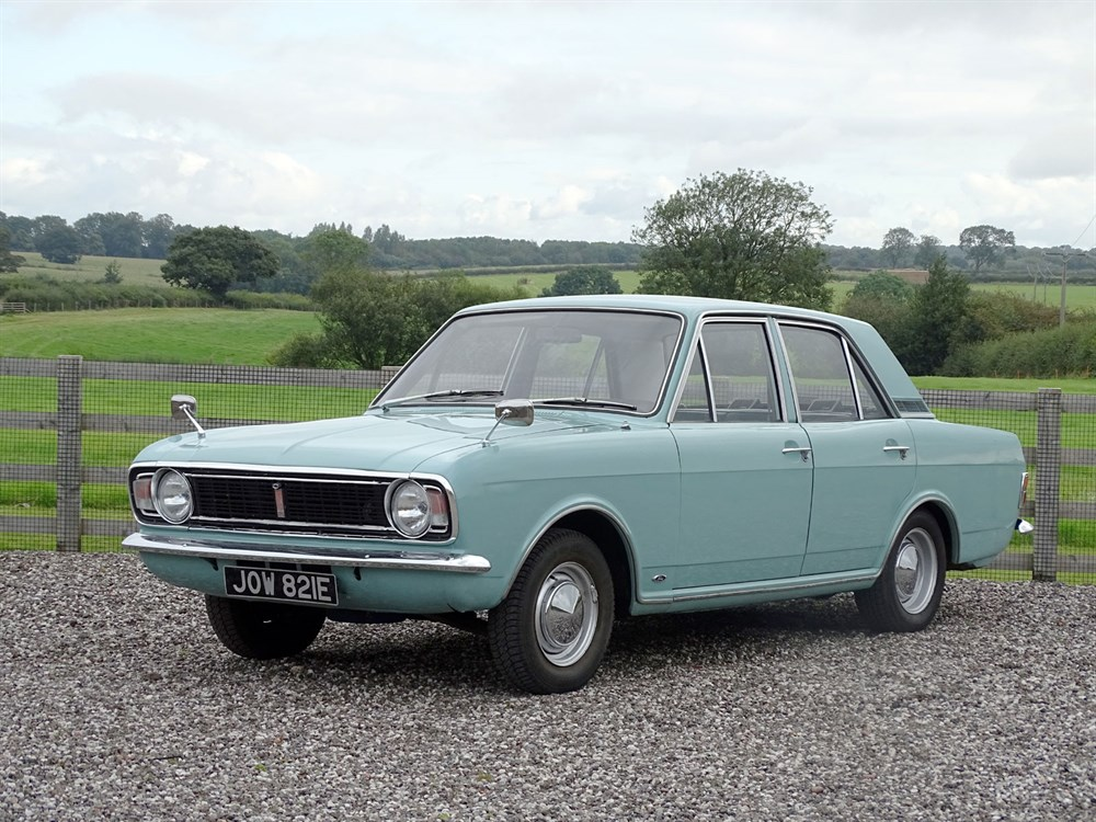 Lot 15-1967 Ford Cortina MKII Super