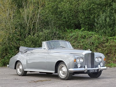Lot 60-1965 Bentley S3 Drophead Coupe Conversion