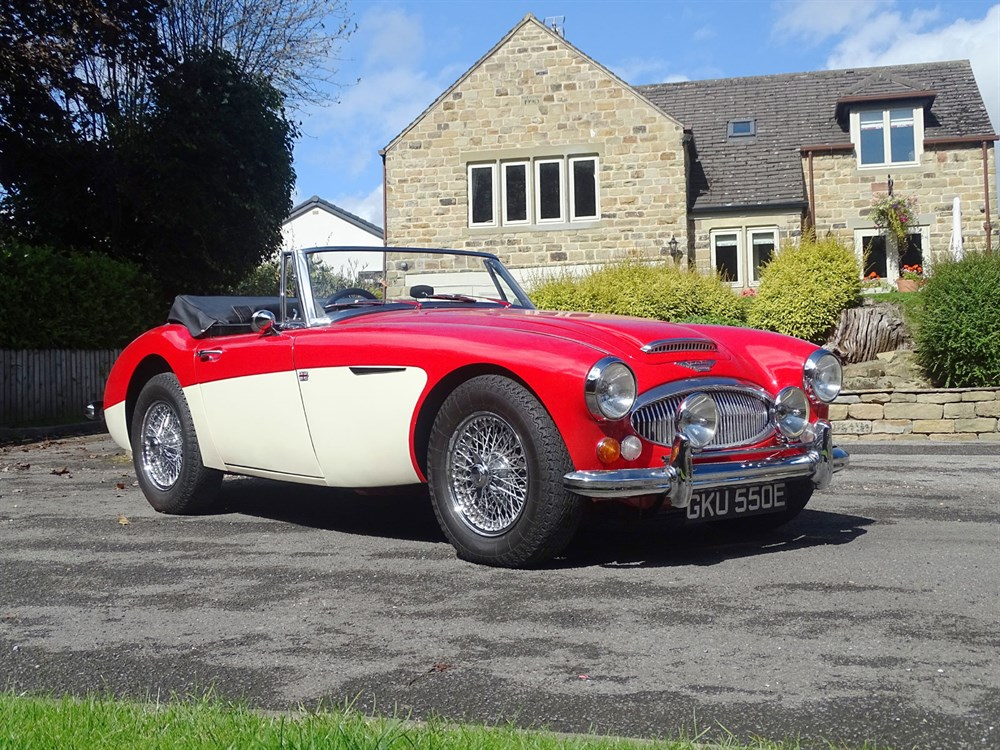 Lot 44-1967 Austin-Healey 3000 MKIII