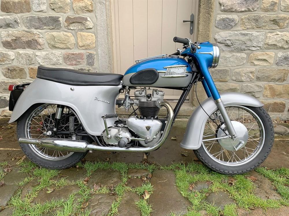 Lot 26-1962 Triumph T110 Tiger