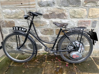 Lot 28 - 1955 Wearwell Ladies Cyclemaster