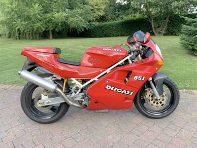 Lot 29-1993 Ducati 851 Strada