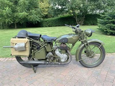 Lot 31-1941 Norton Model 16H WD