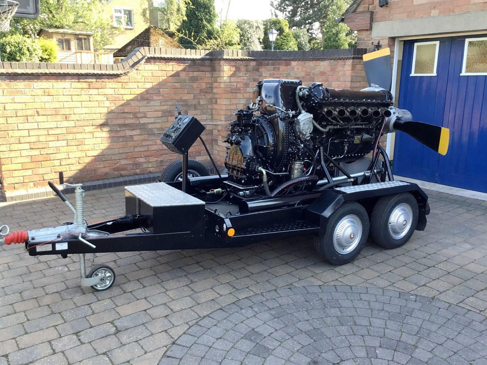 Lot 47-1949 Rolls-Royce Merlin Engine