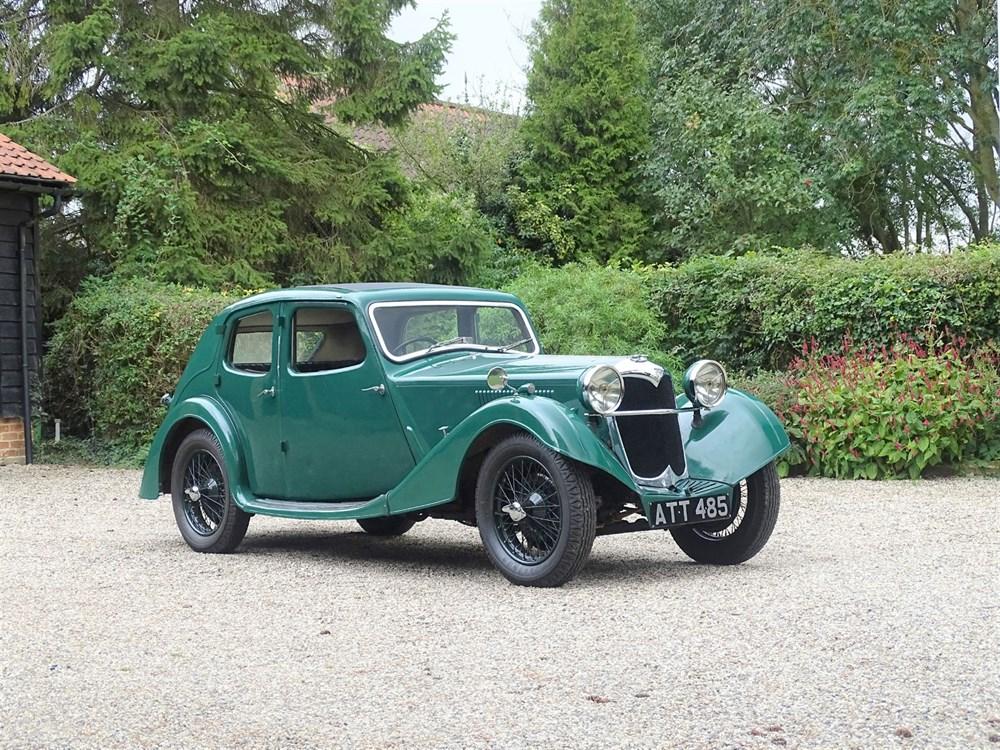 Lot 79 - 1935 Riley 12/4 Kestrel
