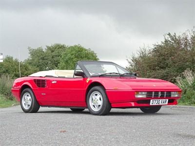 Lot 77-1987 Ferrari Mondial 3.2 Cabriolet