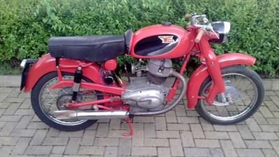Lot 74-1957 Moto Morini Briscola