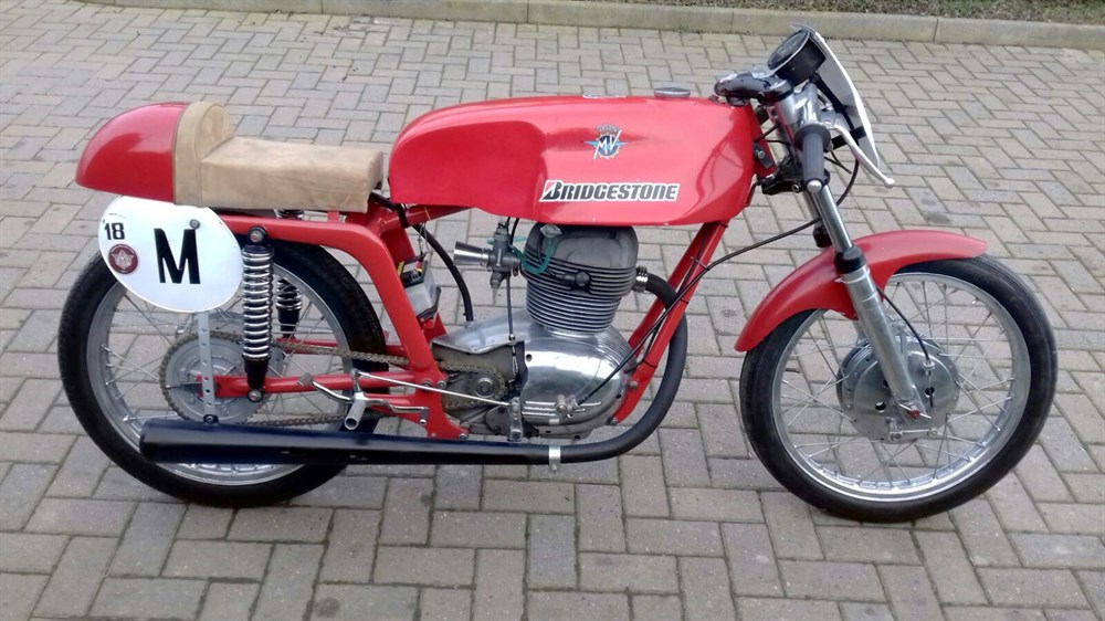 Lot 75-1954 MV Agusta 175 Cafe Racer