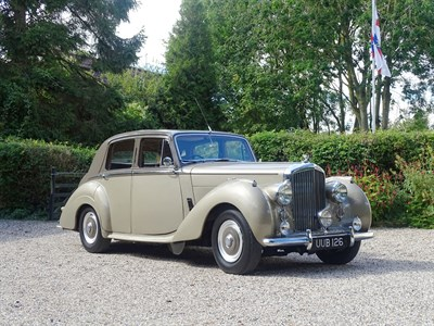 Lot 57-1953 Bentley R-Type Saloon