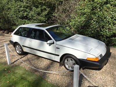 Lot 49-1990 Volvo 480 ES