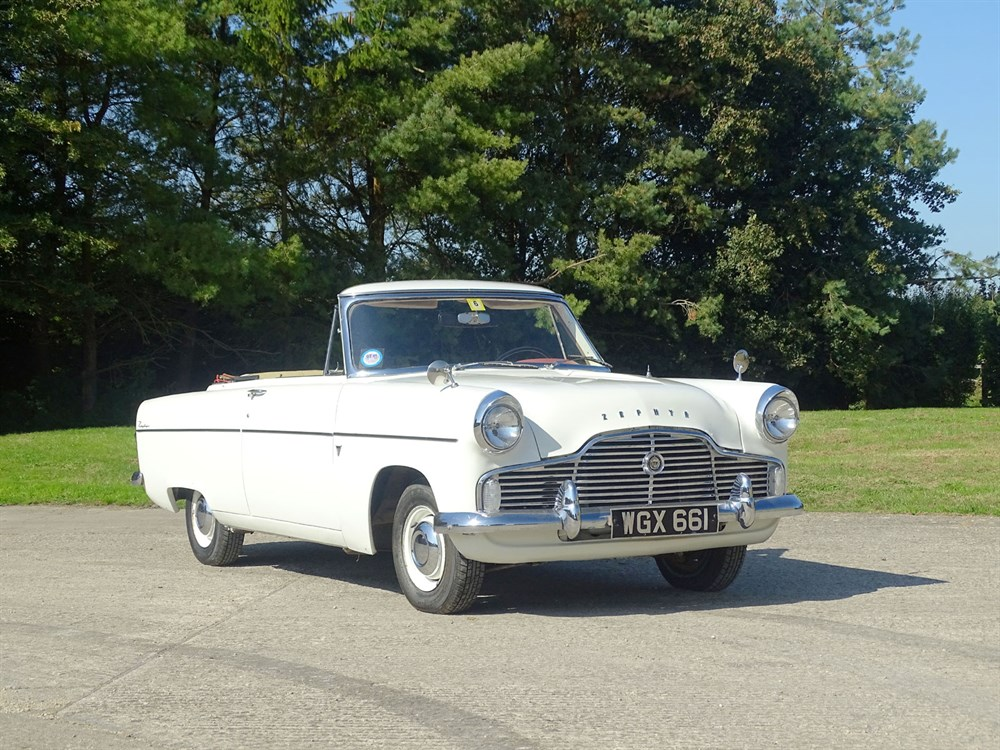 Lot 12-1959 Ford Zephyr MKII Convertible