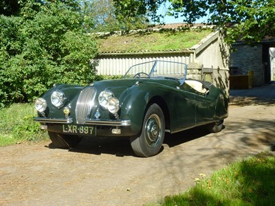 Lot 51-1951 Jaguar XK120 Roadster