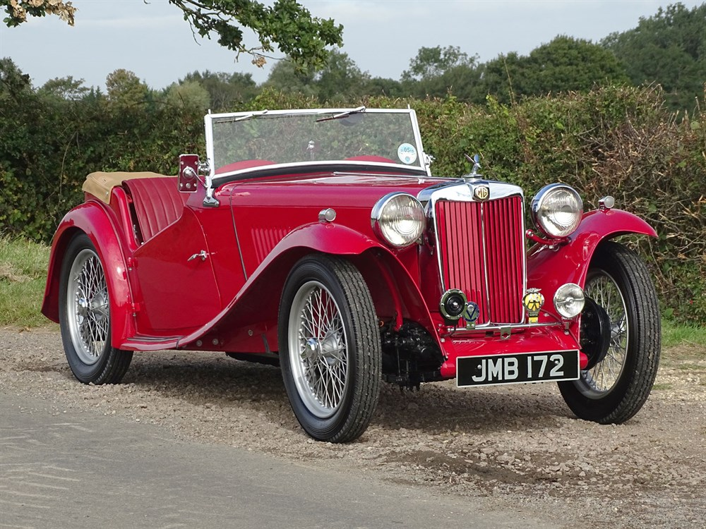 Lot 29-1947 MG TC