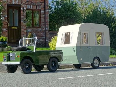 Lot 61-2012 Toylander Land Rover & Caravan