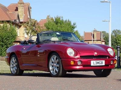 Lot 25-1994 MG R V8