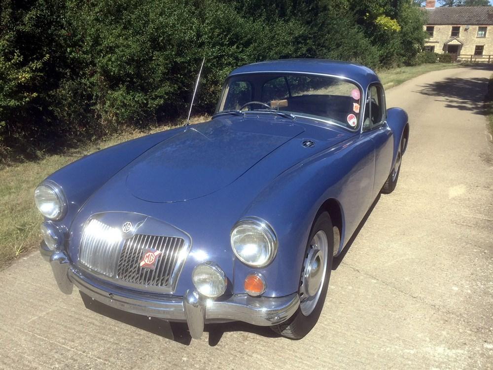 Lot 5-1957 MG A 1500 Coupe