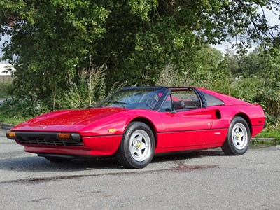 Lot 21-1982 Ferrari 308 GTSi