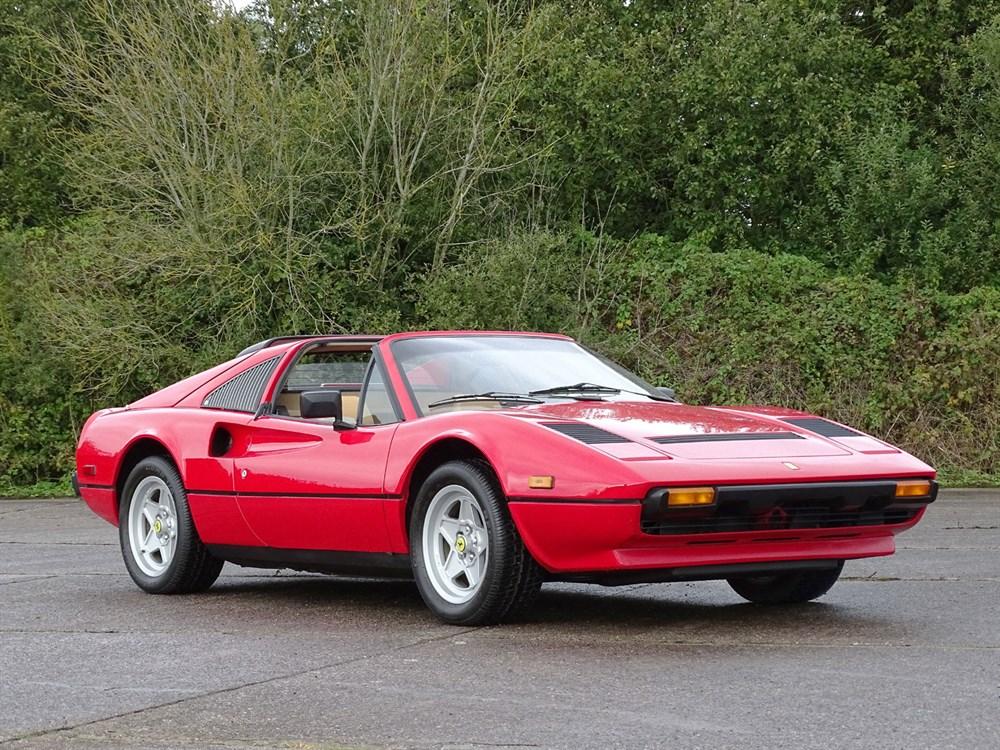 Lot 52-1984 Ferrari 308 GTS QV