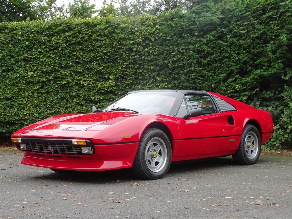 Lot 75-1983 Ferrari 308 GTS QV