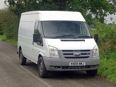 Lot 24-2009 Ford Transit 115 T350