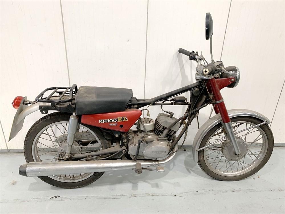 Lot 37-c.1978 Kawasaki KH100 EL
