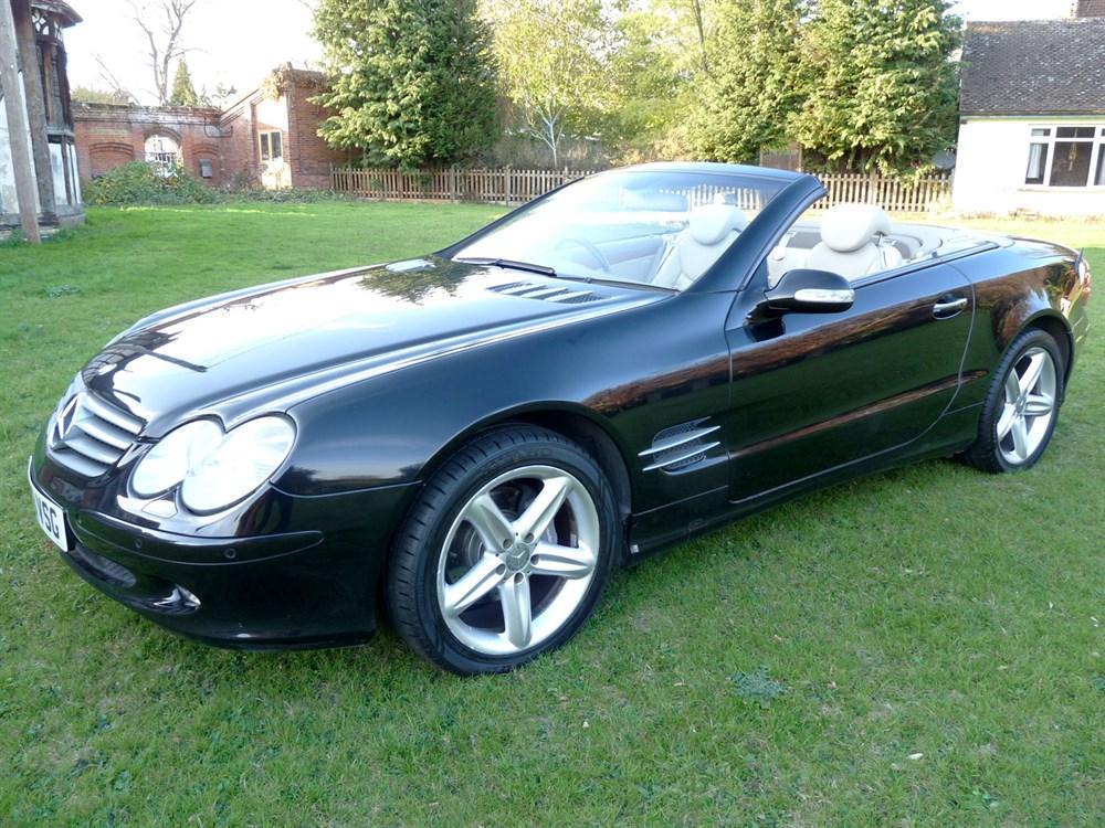 Lot 52-2003 Mercedes-Benz SL 350