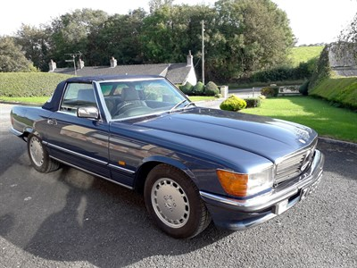 Lot 17-1987 Mercedes-Benz 300 SL
