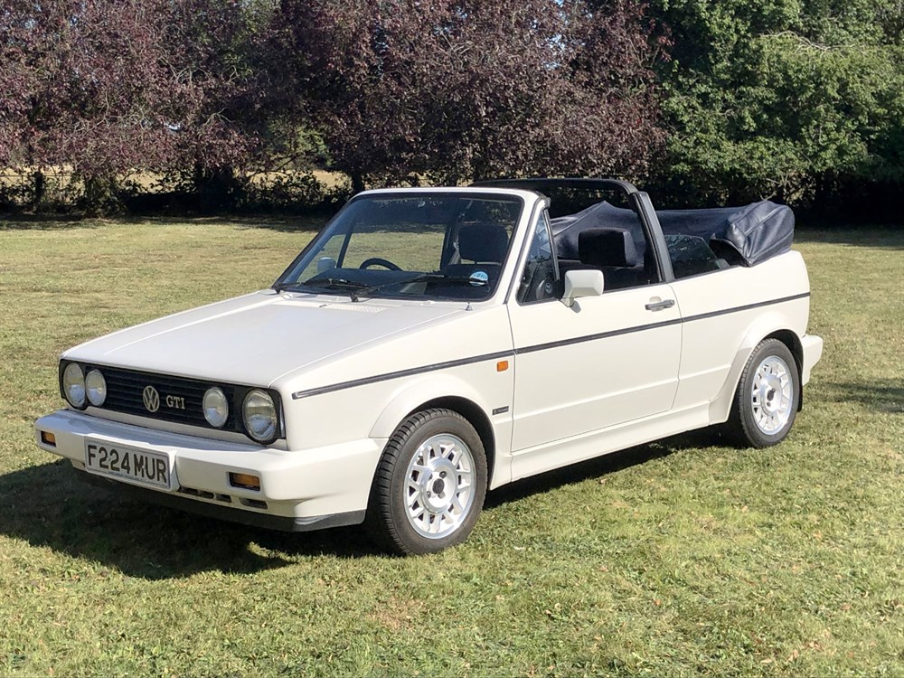 Lot 64-1989 Volkswagen Golf GTi Cabriolet