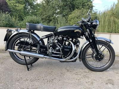Lot 80-1951 Vincent Black Shadow Series C