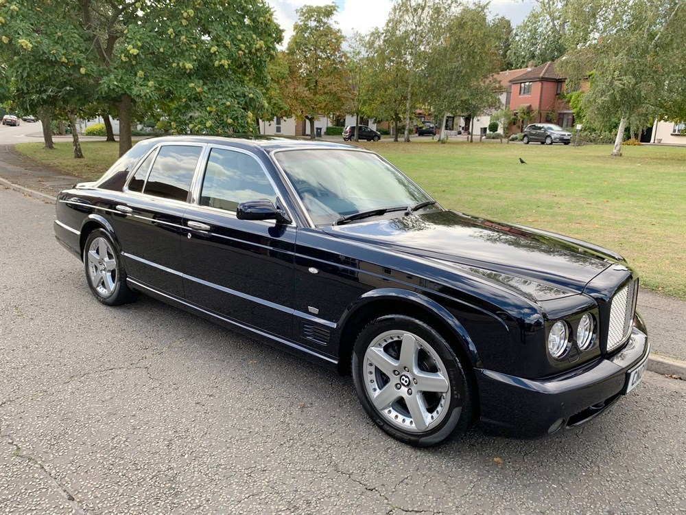 Lot 32-2004 Bentley Arnage T Mulliner Level II