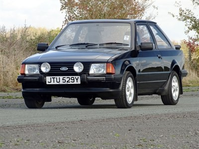 Lot 26-1982 Ford Escort XR3