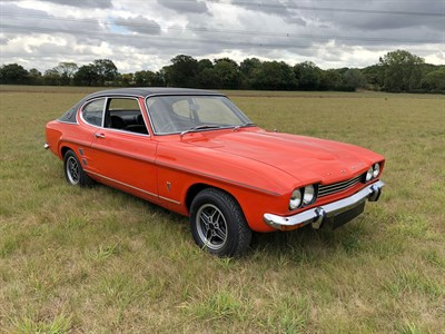 Lot 71-1972 Ford Capri 3000 GXL