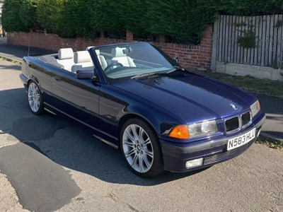 Lot 27-1996 BMW 328i Cabriolet