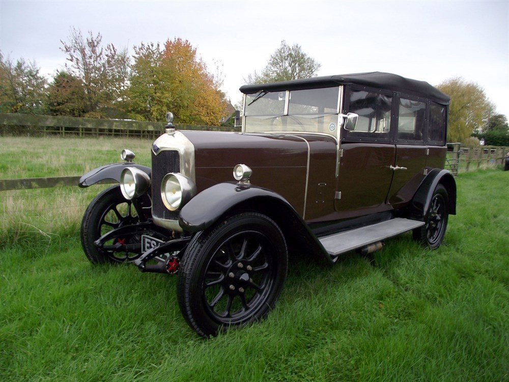 Lot 33-1925 Riley 11.9hp Tourer