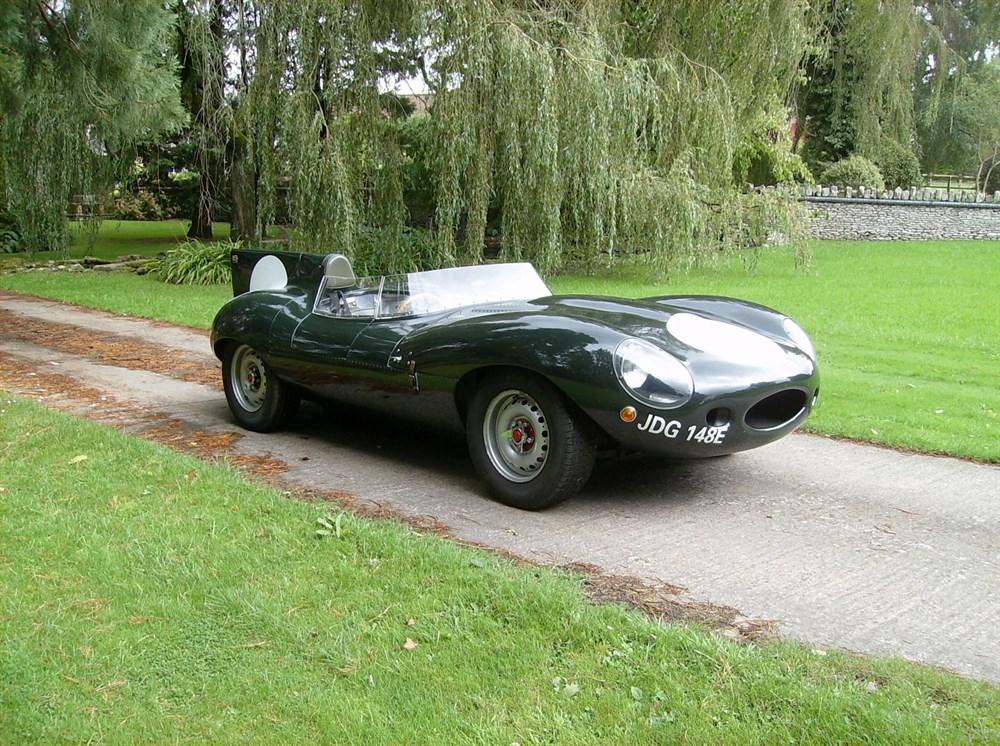 Lot 87-1966 Jaguar D-Type Evocation