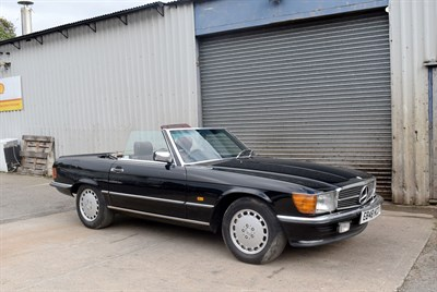 Lot 89-1988 Mercedes-Benz 500 SL