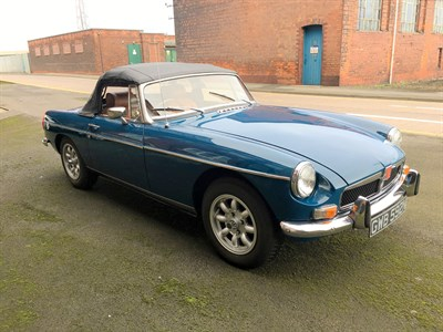 Lot 7-1974 MG B Roadster