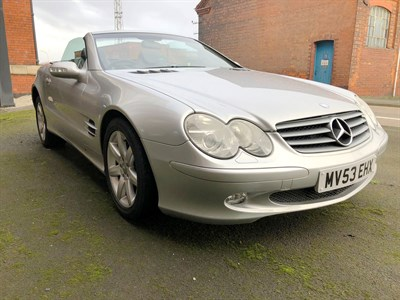 Lot 85-2003 Mercedes-Benz SL 500