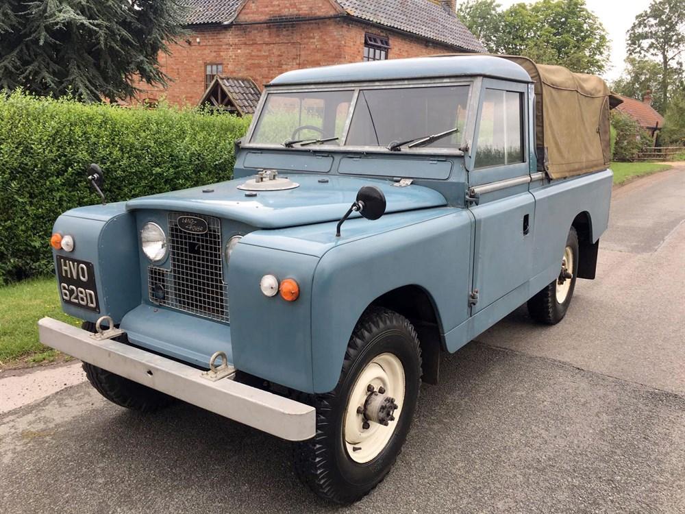 Lot 28-1966 Land Rover 109 Series IIA