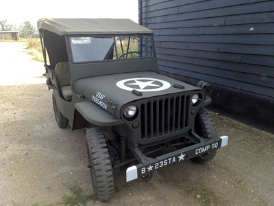 Lot 96-1943 Ford Jeep