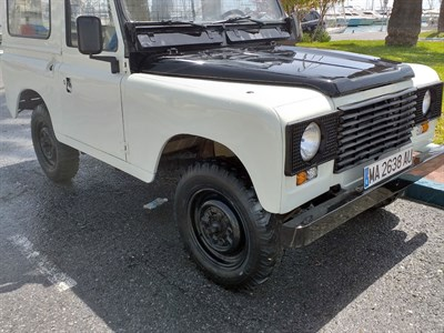 Lot 91-1989 Land Rover Santana Series IV