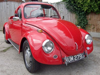 Lot 58-1969 Volkswagen Beetle Convertible Conversion