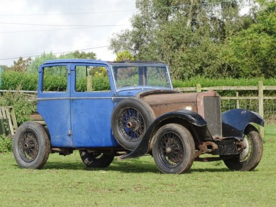 Lot 43-1927 Talbot 14/45 Rolling Chassis