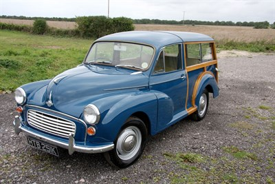 Lot 7-1971 Morris Minor 1000 Traveller